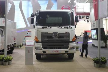 广汽日野 700系列重卡 450马力 6X4危险品牵引车(YC4250SS1EL5W)