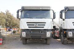 上汽红岩 杰狮M500 轻量化版 290马力 8X4 7.75方混凝土搅拌车(CQ5316GJBHMVG306)