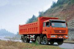 红岩 特霸重卡 340马力 8X4 8米自卸车(CQ3314STG426) 卡车图片