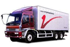 庆铃 FVZ重卡 300马力 6X4 9.4米厢式载货车(QL5250XRTFZJ) 卡车图片