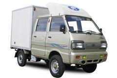 北汽黑豹 1.1L 52马力 汽油 1.7米双排厢式微卡(SM5010XXYWE) 卡车图片