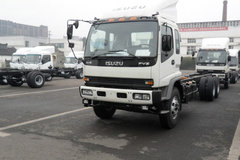 五十铃 FVZ重卡 300马力 6X4 厢式载货车(QL5250XRTFZJ) 卡车图片