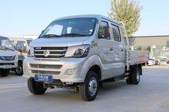 重汽王牌 W1 2.2L 112马力 汽油/CNG 3米双排栏板微卡(CDW1032S2M5D) 卡车图片