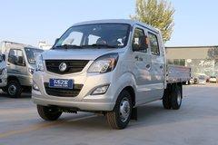 重汽王牌 W1新款 1.5L 102马力 汽油 2.8米双排栏板微卡(CDW1032S2M5Q) 卡车图片