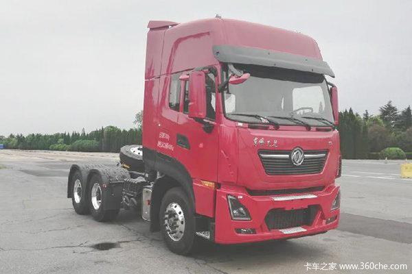 东风商用车 新天龙KL重卡 465马力 6X4牵引车
