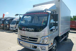 福田 奥铃捷运 132马力 4X2 3.7米冷藏车(万里扬5挡)(BJ5041XLC8JB4-AA1)