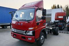 江淮 骏铃V6 154马力 4X2 4.03米冷藏车(HFC5043XLCP91K2C2V)