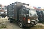 中国重汽HOWO 悍将 物流版 170马力 5.15米单排厢式轻卡(ZZ5107XXYG421CE1)图片
