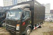 中国重汽HOWO 悍将 116马力 4.15米单排厢式轻卡(ZZ2047XXYG3325E144)