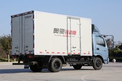 飞碟奥驰  铃动版 130马力 4.15米单排厢式轻卡(冰岛蓝)(FD5045XXYW63K5-1) 卡车图片