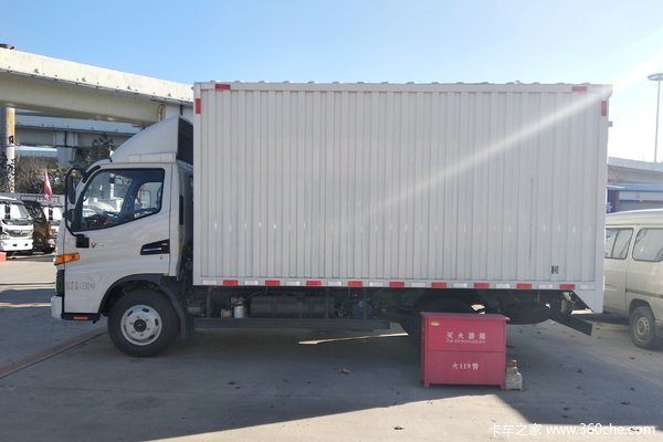 江淮 骏铃V3 102马力 3.37米排半厢式轻卡(HFC5040XXYP93K1B4V)