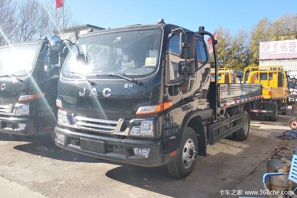 江淮 骏铃V6 156马力 4.18米单排栏板轻卡(HFC2043P91K1C2V-S)
