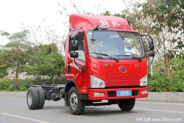 一汽解放轻卡四川中易J6F产品推介会