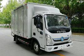 福田 奥铃智蓝 4.14米单排纯电动厢式微卡81.14kWh