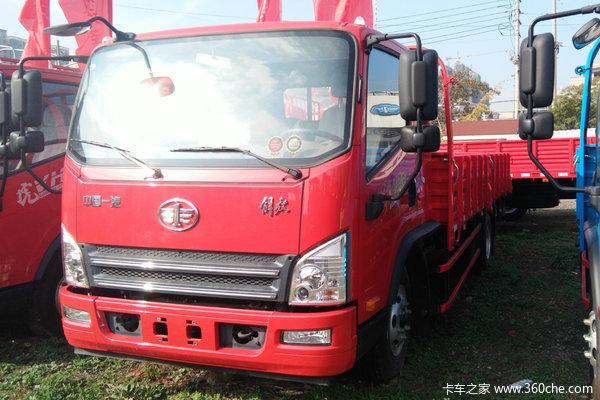 解放 虎VH 140马力 4X2 5.4米栏板载货车
