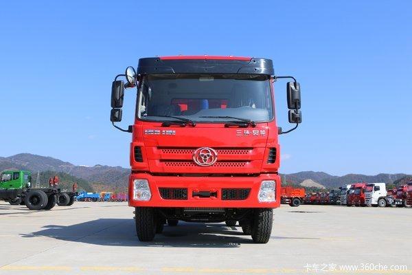 降价促销泰州三环十通昊龙自卸车仅售22万