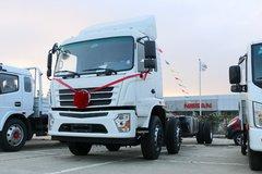 东风新疆 专底系列 210马力 6X2 9.6米栏板载货车(EQ1250GD5D) 卡车图片