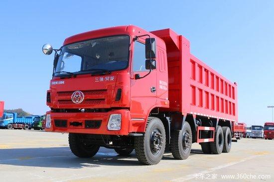 三环十通 昊龙重卡 240马力 8X4 6.5米自卸车(STQ3311L12Y3B5)