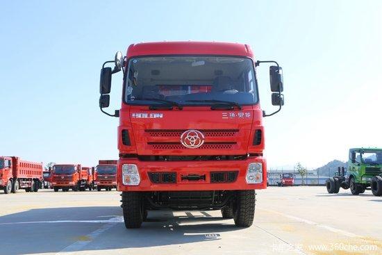 三环十通 昊龙重卡 310马力 8X4 6.2米自卸车(STQ3311L13Y4B5)