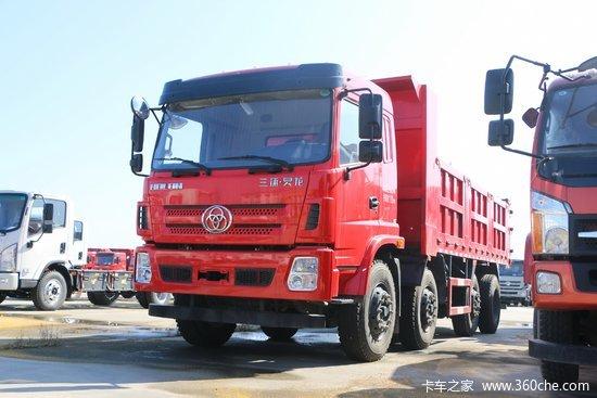 三环十通 昊龙中卡 240马力 8X2 6.5米自卸车(STQ3317L14Y3A5)
