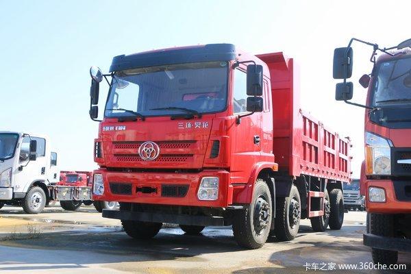 三环十通 昊龙中卡 240马力 8X2 6.5米自卸车