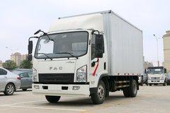 一汽凌河 东方之星 116马力 4.12米单排厢式轻卡(CAL5041XXYDCRE5) 卡车图片