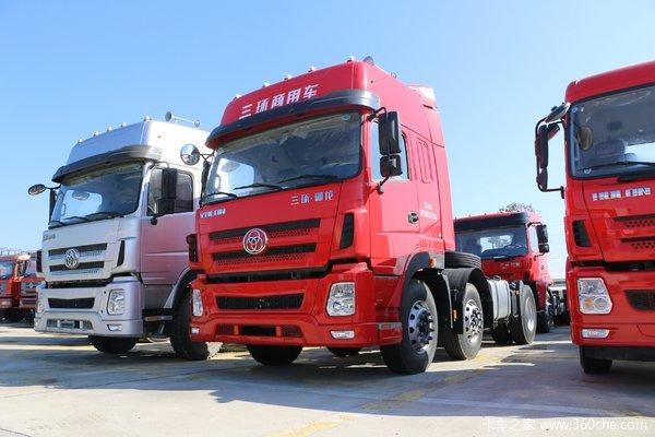 三环十通 御龙重卡 标载版 430马力 6X4牵引车(STQ4257L08Y6S5)