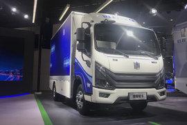 吉利远程 Re500 6T 4.14米单排增程式电动厢式轻卡