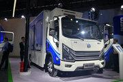 吉利远程 Re500 6T 4.02米单排增程式电动冷藏车