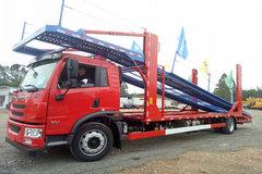 青岛解放 龙V中卡 220马力 4X2 车辆运输车(CA5185TCLPK2L7E5A96) 卡车图片