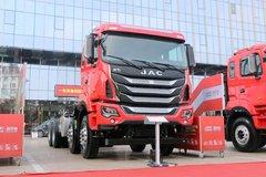 江淮 格尔发K5W重卡 440马力 8X4 自卸车底盘 卡车图片