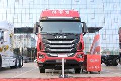 江淮 格尔发K5X重卡 245马力 6X2 9.5米仓栅式载货车(HFC5251CCYP2K3D54S2V)图片