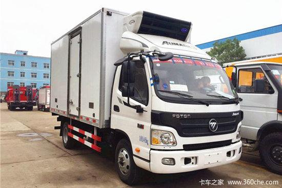 福田 欧马可S3 156马力 4X2 4.08米冷藏车(新飞牌)(采埃孚6挡)(XKC5040XLC6B)