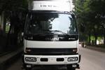 庆铃 FTR系列中卡 205马力 4X2 6.65米排半栏板载货车(QL1160VQFR)图片