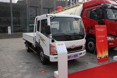 青岛解放 赛虎III 109马力 3.8米排半栏板轻卡 卡车图片