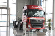 福田 欧曼ETX 9系重卡 336马力 6X2 牵引车(BJ4253SNFKB-1)