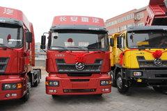 江铃重汽 远威重卡 340马力 6X2 牵引车(SXQ4250M) 卡车图片