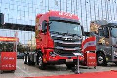 江淮 格尔发新A5重卡 560马力 6X4 AMT自动挡牵引车(HFC4251P12K7E33S8V) 卡车图片