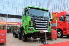 江淮 格尔发K5W重卡 400马力 8X4 自卸车底盘(国六)(HFC3311P1K6H25WS) 卡车图片