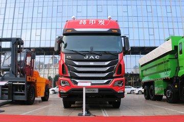 江淮 格尔发K5W重卡 轻量化版 380马力 8X4 9.35米厢式载货车(HFC5311XXYP1K5H45S7V)