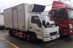 江铃 顺达 116马力 4X2 4.11米冷藏车(冰熊牌)(BXL5042XLC1S)