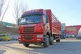 青岛解放 悍V重卡 240马力 6X2 7.7米仓栅式载货车(CA5250CCYP1K2L5T3E5A80-1)