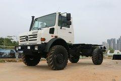 奔驰 乌尼莫克U4000 218马力 4X4越野载货车底盘 卡车图片