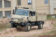 奔驰 乌尼莫克U4000 218马力 4X4越野救援车 卡车图片