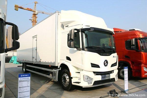 陕汽重卡 德龙M6000 340马力 4X2载货车