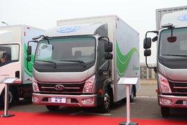 南骏汽车 瑞捷D30EG 4.15米单排电动厢车轻卡