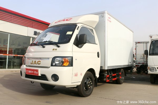 江淮 恺达X5 舒适版 1.5L 110马力 3.5米单排厢式微卡
