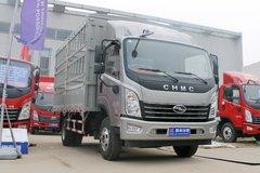 四川现代 致道500M 156马力 4.165米单排仓栅轻卡(CNJ5041CCYQDA33V) 卡车图片