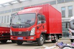 四川现代 致道500M 130马力 3.835米排半厢式轻卡(CNJ5041XXYQDA33V) 卡车图片