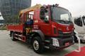 东风柳汽 新乘龙M3 220马力 4X2 8米随车吊(LZ5181JSQM3AB)图片